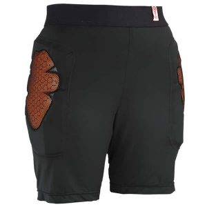 RED Base Layer Comfort Short  (black)