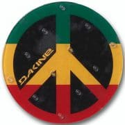 Dakine Liftpad Circle Mat Anti Rutsch Pad (rasta)
