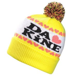 DAKINE Lovely Beanie Girls Bommelmütze ( yellow )