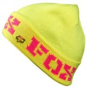 Fox Beanie Held Back Girls Beanie (lemonade)