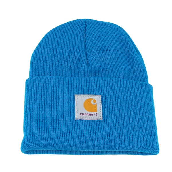 Carhartt Acryllc Watch Beanie (teal blue)