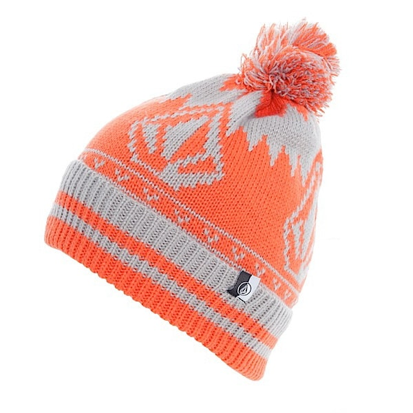 VOLCOM Roll Over Atomic Stone Beanie (orange)
