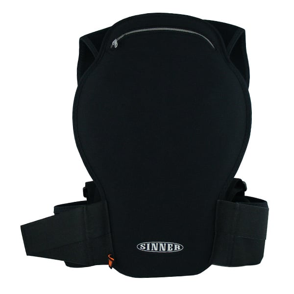 SINNER Castor Spine Protector D3O (black)