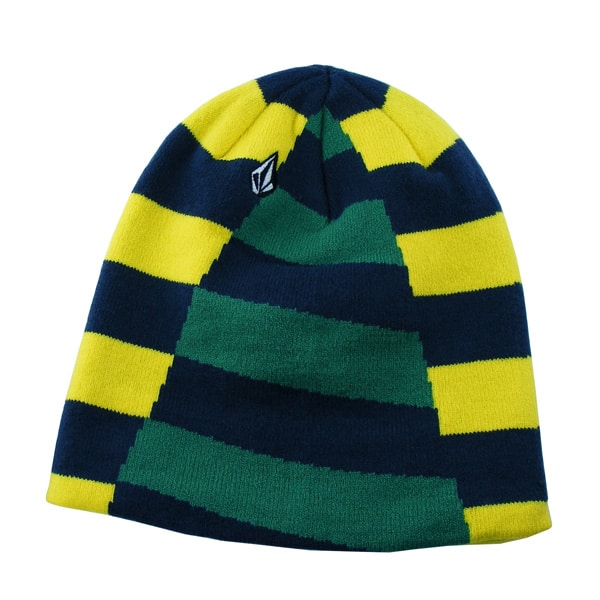 VOLCOM Traction Cuff Beanie (yellow mlt)