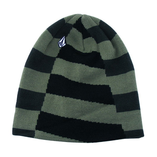 Volcom Traction Cuff Beanie (black mgn)