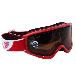 Giro Snowboardbrille Index OTG (red amber rose)
