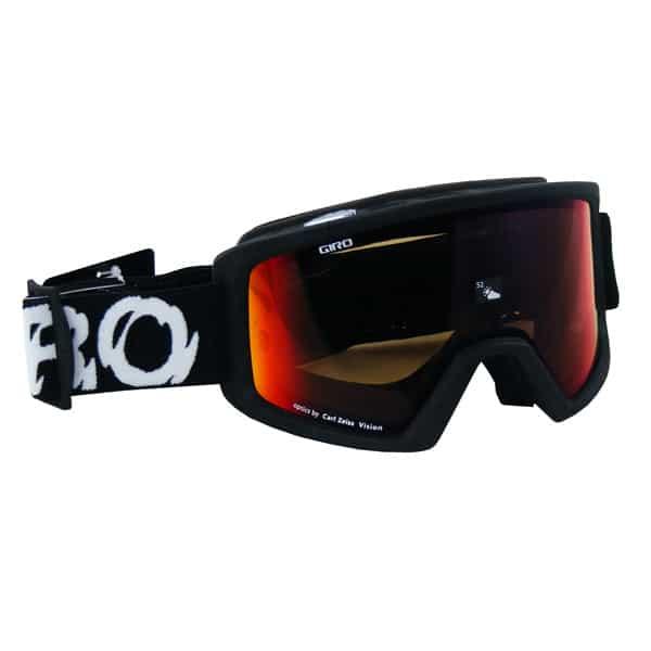 GIRO Snowboardbrille Blok (black static amber scarlet)