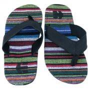 Globe Flip Flops (rainbow)