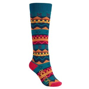 Burton Snowboard Frauen Party Socks 2015 (geo fair)