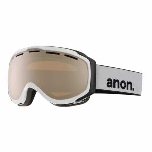 Anon Snowboardbrille Hawkeye with Spare 2015 (white silver amber)