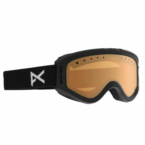 Anon Kinder Snowboardbrille Tracker 2015 (black amber)