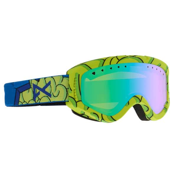 Anon Kinder Snowboardbrille Tracker 2015 (brain green amber)