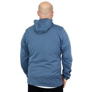 Salomon Discovery Hooded Microfleece Winterjacke 2015 (bleu gris)