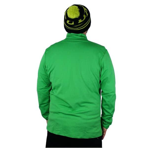 Salomon Discovery FZ Microfleece Winterjacke (bud green)