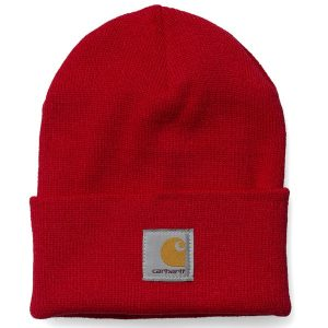 Carhartt Acrylic Watch Beanie 2015 (us dark red)