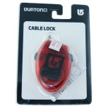 BURTON Cable Lock Snowboardschloss 2015 (red)