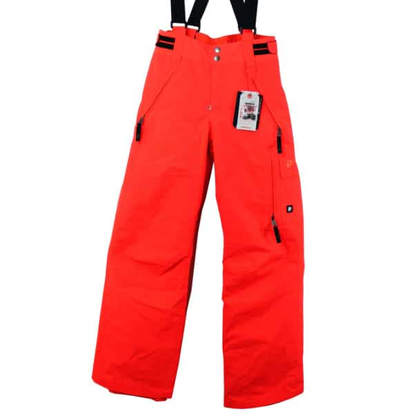 Protest Kinder Denys 13 Snowboardhose (neon red)