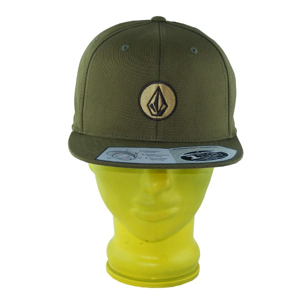 Volcom One Ten Flexfit Snapback Cap 2015 (dlk)