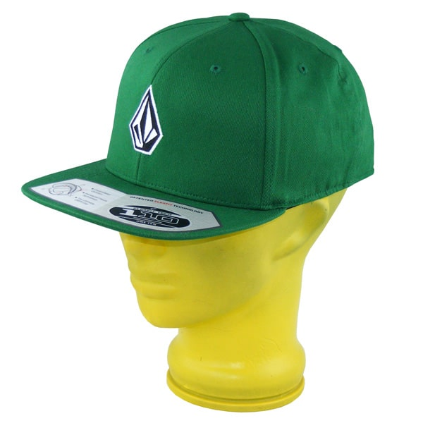 Volcom One Ten Flexfit Snapback Cap 2015 (ggn)