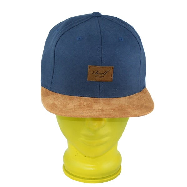Reell Suede Snapback Cap 2015 (charcoal)