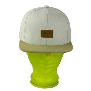 Reell Pitchout 6- Panel Snapback Cap 2015 (beige dark sand)