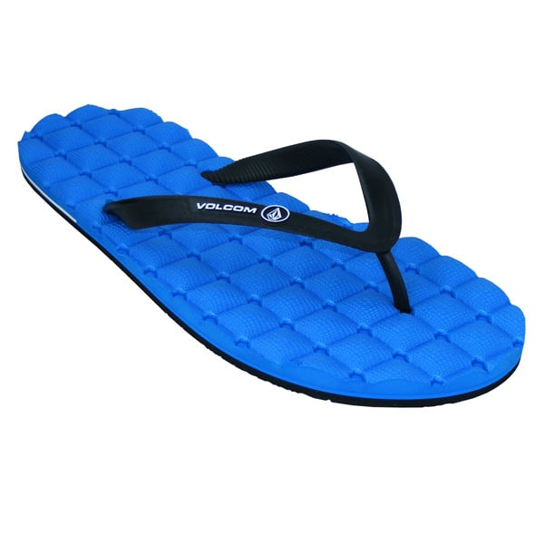 Volcom Recliner Rubber Sandals 2015 (blue)