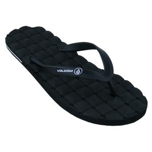 Volcom Recliner Rubber Sandals 2015 (black)