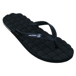 Volcom Recliner Rubber Sandals 2015 (black)