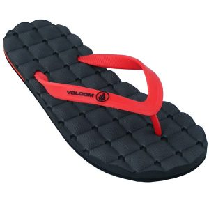 Volcom Recliner Rubber Sandals 2015 (red)