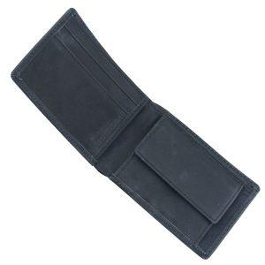 Volcom Leder Brieftasche Wallet (schwarz)