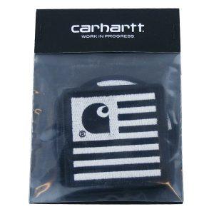 Carhartt Sticker Set 3 Stück (silber schwarz)