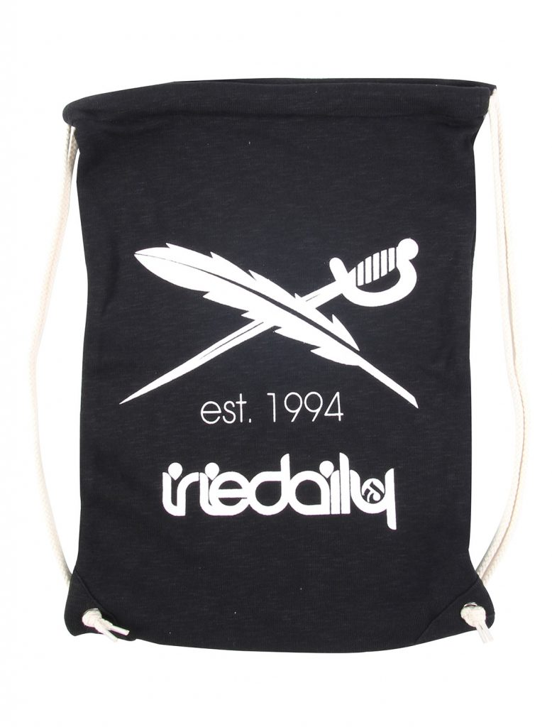 Iriedaily Desire Nerd Bag Beutel 5L (schwarz)