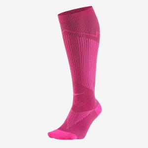 Nike Elite Running Socks Socken 1Paar (pinkes peng)
