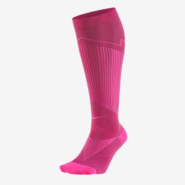 Nike Elite Running Socks Socken 1Paar (pinkes peng)