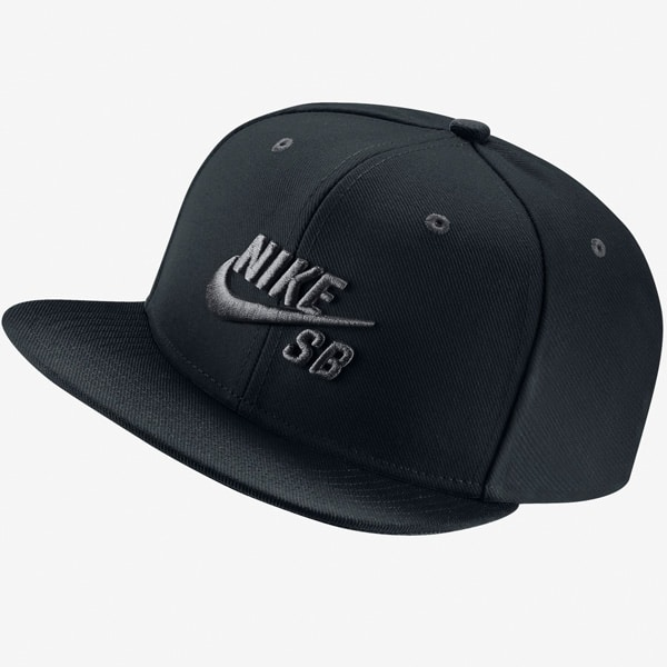 Nike SB Icon Snapback Cap (anthracit black)