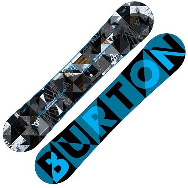 Burton Clash Snowboard 139cm (blau schwarz)