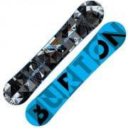 Burton Clash Snowboard 145cm (blau schwarz)