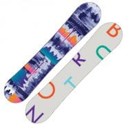 Burton Feather Snowboard 140cm (dark blue print)