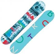 Burton Feather Snowboard 144cm (blue green print)