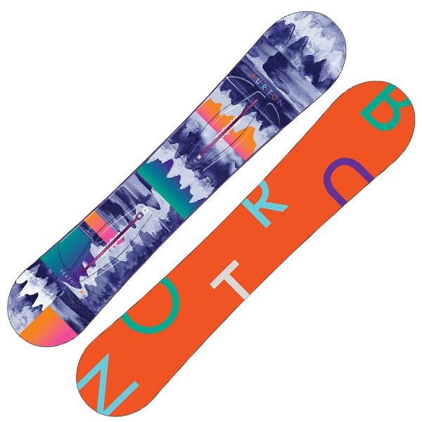 Burton Feather Snowboard 149cm (red print)
