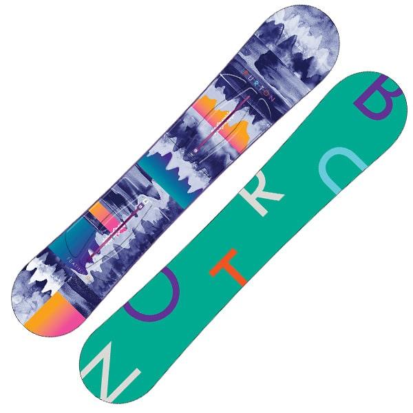 Burton Feather Snowboard 155cm (green print)