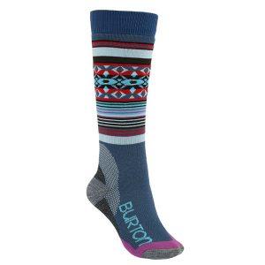Burton Frauen Trillium Snowboard Socks Kniestrümpfe (dusk)