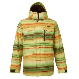 Burton Covert Snowboardjacke (stripped tuna)