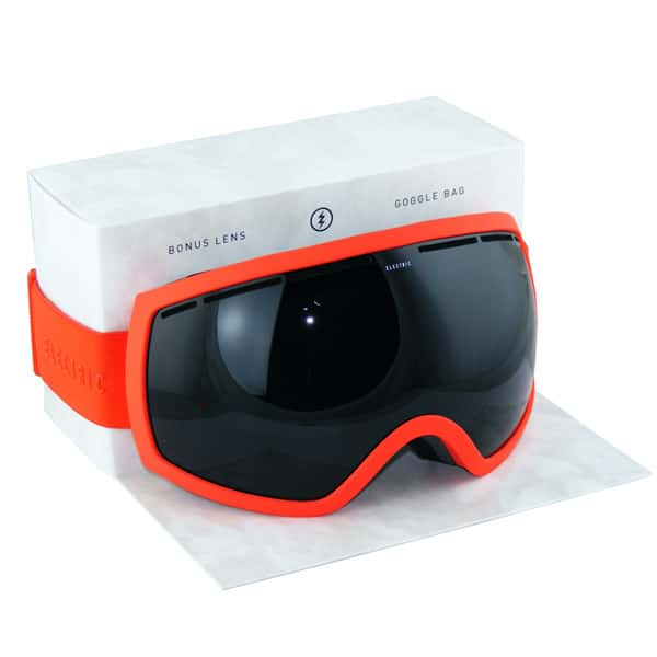 Electric Snowboardbrille Solid Orange (jet black)