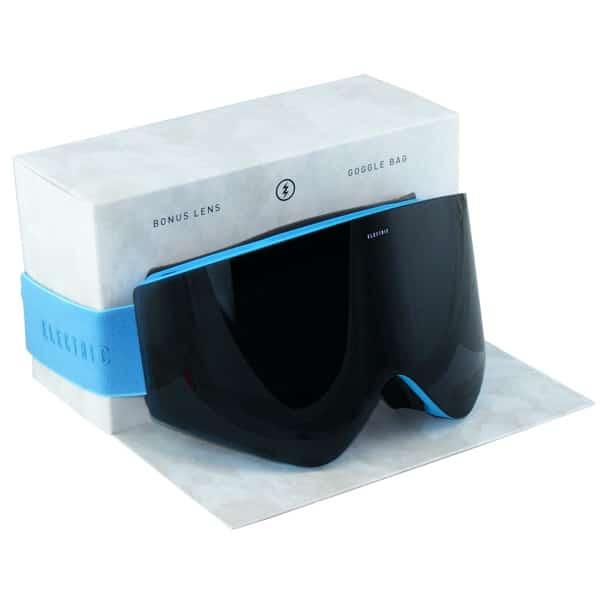 Electric Snowboardbrille EGX Light Blue (jet black)