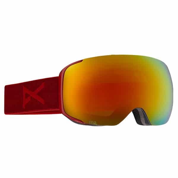 Anon Snowboardbrille 2016 (blaze red solex)