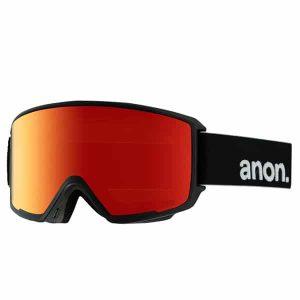 Anon M3 MFI Snowboardbrille 2016 (black red solex)