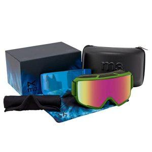 Anon M3 MFI Snowboardbrille 2016 (green pink cobalt)