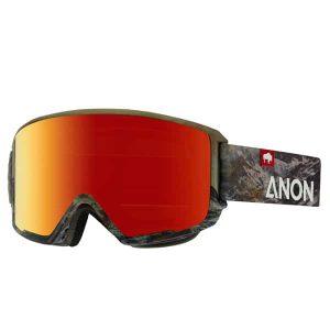 Anon M3 MFI Snowboardbrille 2016 (tatunka red solex)