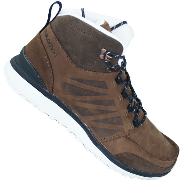 Salomon Utility Lederschuhe (brown light grey)